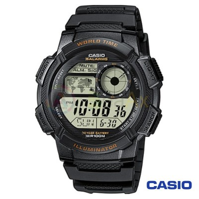 Orologio Casio Collection AE-1000W-1AVEF uomo resina digitale quarzo nero