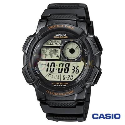 Orologio Casio Collection AE-1000W-1AVEF uomo resina digitale quarzo nero AE-1000W-1AVEF