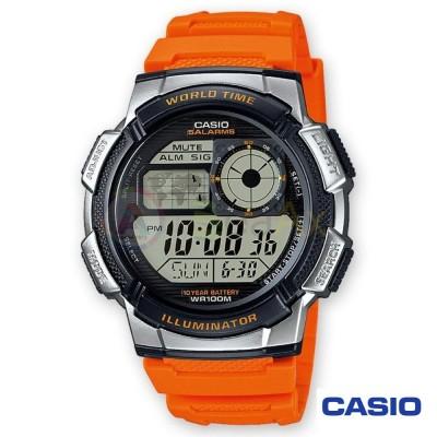 Orologio Casio Collection AE-1000W-4BVEF uomo resina digitale quarzo arancione AE-1000W-4BVEF