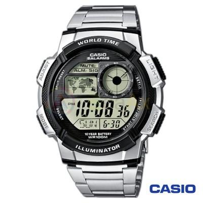 Orologio Casio Collection AE-1000WD-1AVEF uomo acciaio resina digitale quarzo  AE-1000WD-1AVEF