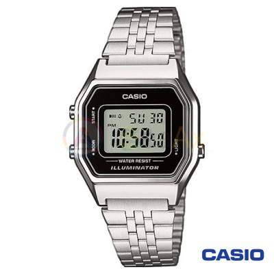 Orologio Casio Vintage LA680WEA-1D donna acciaio digitale quarzo neutro LA680WEA-1D