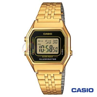 Orologio Casio Vintage LA680WEGA-1D donna dorato digitale quarzo neutro LA680WEGA-1D