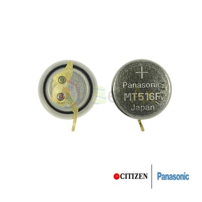 Accumulatore Panasonic per orologio Citizen Eco Drive 295-76 - MT516 CT295.76