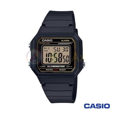 Orologio Casio Collection W-217H-9AVEF unisex resina digitale quarzo nero W-217H-9AVEF