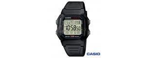 Casio Collection watch W-800H-1AVES man digital resin quartz black