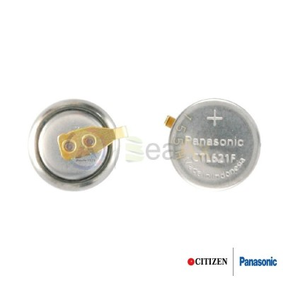 Accumulatore Panasonic per orologio Citizen Eco Drive 295-753 - CTL621F