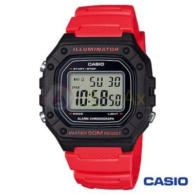 Casio Collection watch W-218H-4B2VEF man quartz digital steel resin