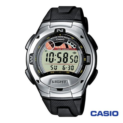 Casio Collection watch W-753-1AVES man stainless steel digital quartz neutral