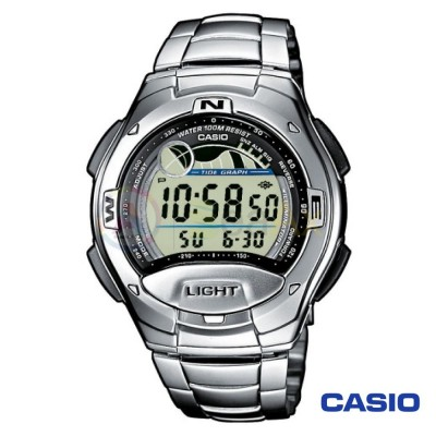 Casio Collection watch W-753d-1AVES man stainless steel digital quartz neutral