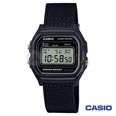 Casio Collection watch W-59B-1AVQES unisex black quartz digital resin