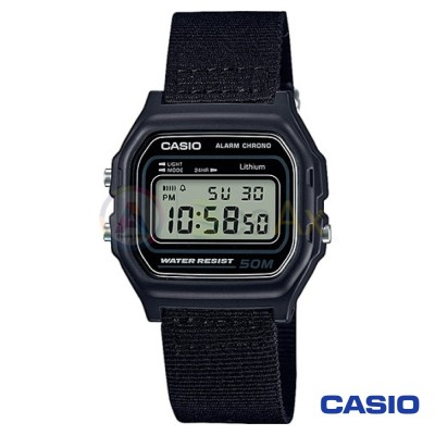 Orologio Casio Collection W-59B-1AVQES unisex resina digitale quarzo nero W-59B-1AVQES