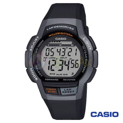 Casio Collection watch WS-1000H-1AVEF man digital resin quartz neutral