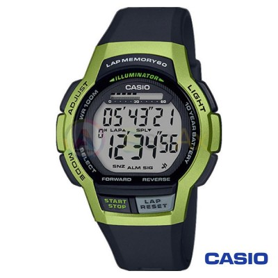 Orologio Casio Collection WS-1000H-3AVEF uomo resina blu digitale quarzo