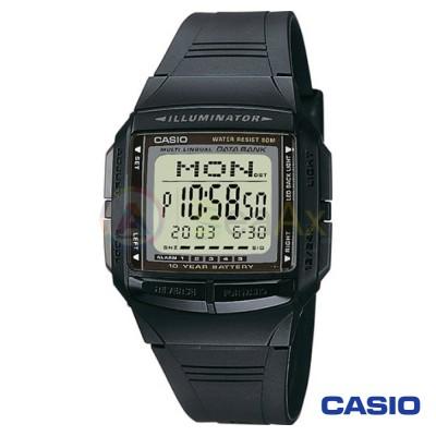 Casio Collection watch DB-36-1AVES man stainless steel digital quartz neutral