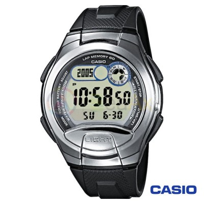Orologio Casio Collection W-752-1AVES uomo resina digitale quarzo neutro