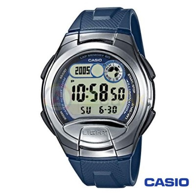 Casio Collection watch W-752-2AVES man resina steel digital quartz neutral