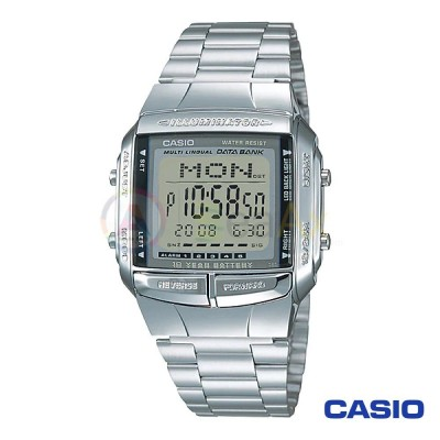 Orologio Casio Collection DB-360-1AVES uomo acciaio digitale quarzo neutro