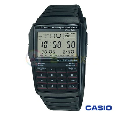 Orologio Casio Collection DBC-32-1AVES calcolatrice uomo resina digitale quarzo calcolatore