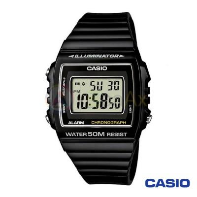 Orologio Casio Collection W-215H-1AVEF uomo resina acciaio digitale quarzo