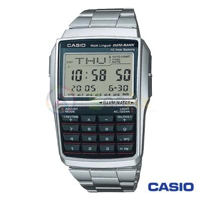 Orologio Casio Collection DBC-32D-1AVES calcolatrice uomo acciaio digitale quarzo calcolatore