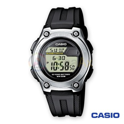 Casio Collection watch W-211-1AVES man quartz digital steel resin