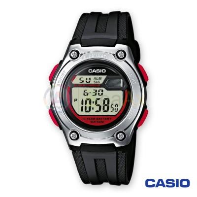 Casio Collection watch W-211-1BVES man quartz digital steel resin
