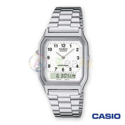 Casio Vintage watch AQ-230A-7BMQYES analog digital steel man quartz