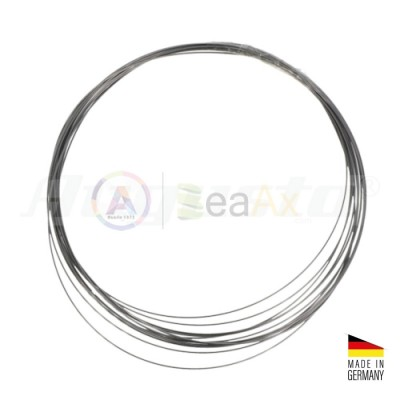 Filo armonico in acciaio inox matassa 5 mt ø da 0.15 a 0.80 mm Made in Germany
