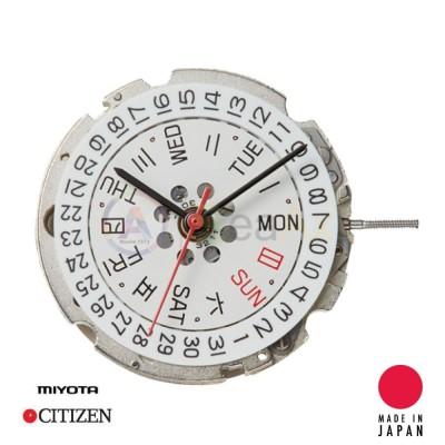 Movimento meccanico automatico Miyota 8205 doppia data H3 Japan