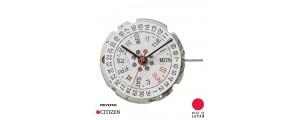 Movement Miyota 8205 (8200) 11 1/2''' SC Date Day 3 Mechanical Automatic Japan