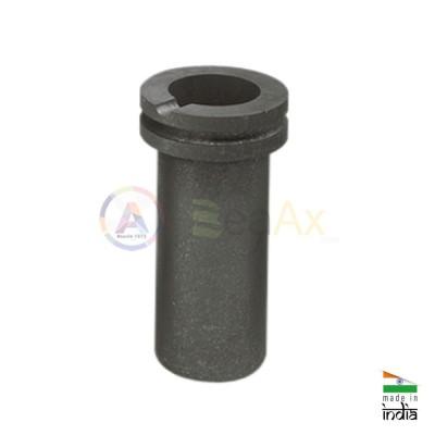 Crogiolo in grafite portata massima 1 kg. ideale per fusione in forno elettrico