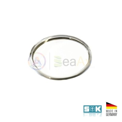 Plastic glass Omega PZ5083 steel ring aftermarket Sternkreuz XAC 330.552 Germany