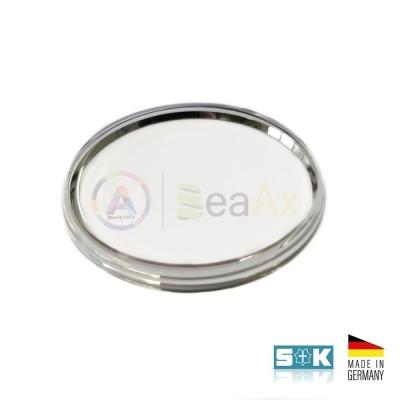 Plastic glass Omega PZ5072 Tissot 10283-3 steel ring Sternkreuz XAC 316.597 Germany
