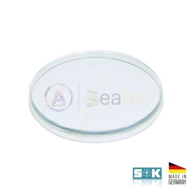 Plastic glass for Rolex model Tropic 26 - Sternkreuz Made in Germany