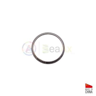 Lunetta ghiera acciaio inox lucida zigrinata adatta a Rolex Datejust Lady 26 mm