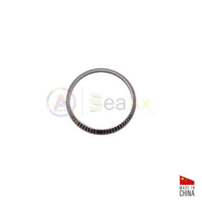 Lunetta ghiera acciaio inox lucida zigrinata adatta a Rolex Datejust Lady 26 mm RX.BEZEL26