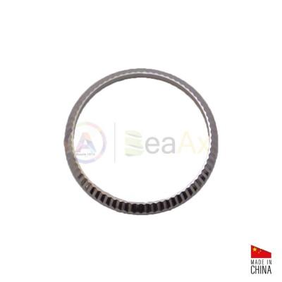 Lunetta ghiera acciaio inox lucida zigrinata adatta a Rolex Datejust Uomo 36 mm RX.BEZEL36