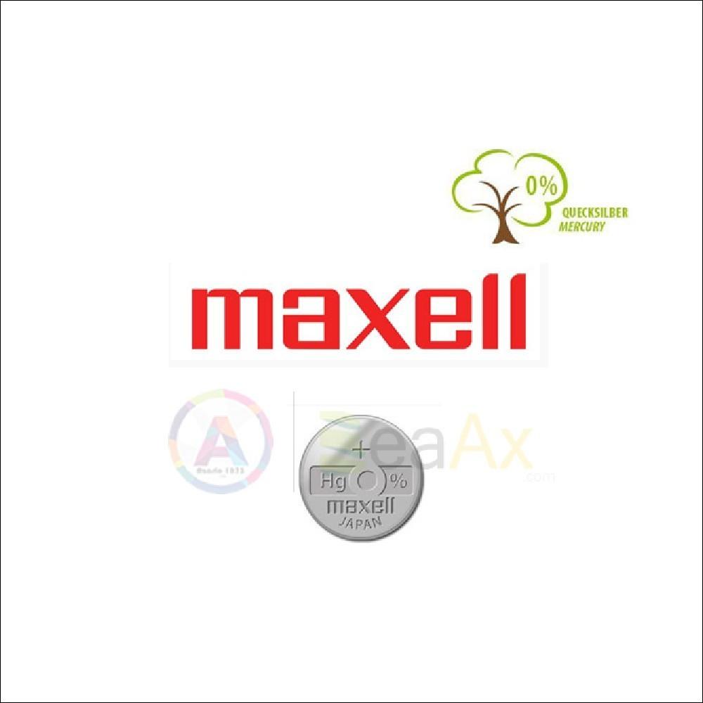 Pila Maxell 394 - SR936SW - Batteria per orologi Ossido di argento Mercury Free M394