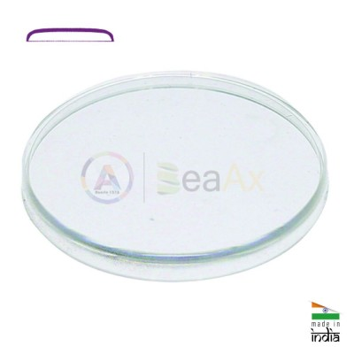 Round plastic crystal for watch - Size 190 - 19 mm to 290 - 29 mm