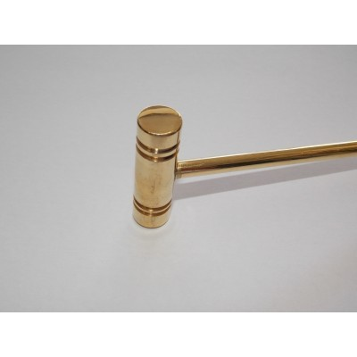 Martello manico testa ottone 150 g orologeria orafo Hammer all Brass goldsmith AG0963