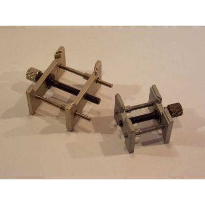 Coppia di porta movimenti reversibili in metallo serraggio a vite professionali SL2084
