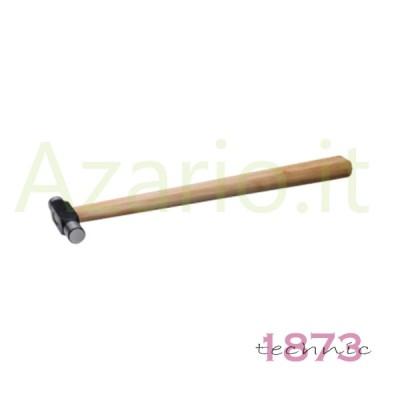 Martello manico legno testa acciaio 85 g orafo incastonatori Hammer Ball Pein AG0970