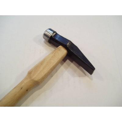 Martello manico in legno testa classica in acciaio scalpello 80 g orafo orafi AG0983