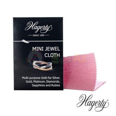 Hagerty Mini Silver & Jewel Cloth - 9x12 cm H100699