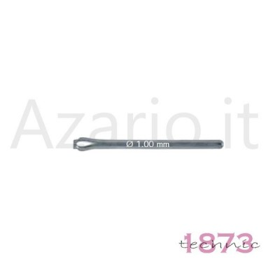 Perni spaccati ø 1.10 mm bracciali Coppiglie acciaio inox 10 pz split pins watch SL0123-10