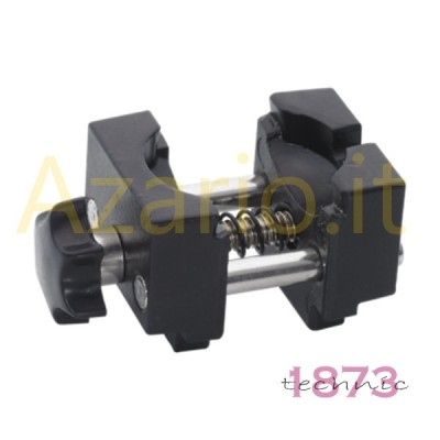 Morsetto morsa ferma casse in alluminio misure oversize casse da 45/46 mm