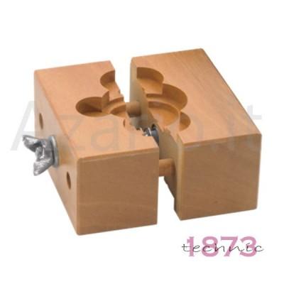 Morsa fermacasse e movimenti in legno x orologi orologiaio watch tools attrezzi