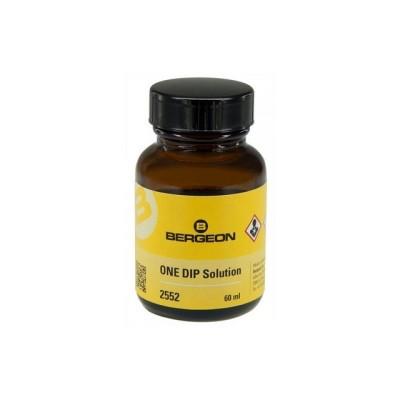 Bergeon liquido ONE DIP soluzione pulente - Flacone 60 ml.