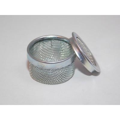 Mini Cestello acciaio pressione microrete Ultrasuoni Basket SS ø 20 mm cleaning