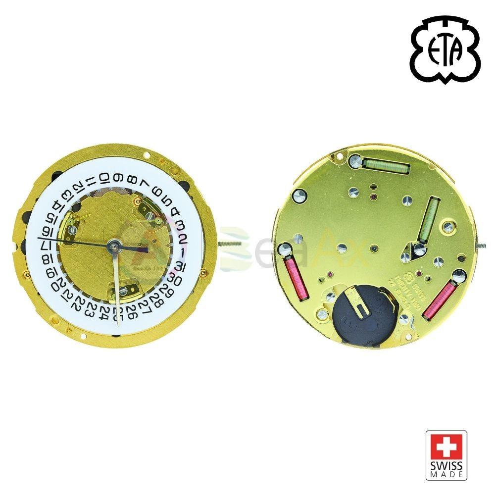 Movimento al quarzo ETA 251.274 cronografo data 4 obliqua - Swiss Made ETA-251.274-H4O